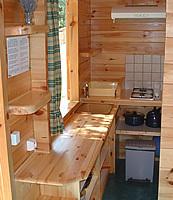 Kitchen Chalet 4 people La Valière