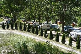 Emplacement camping La Valière
