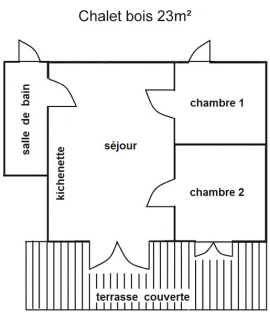 Chalet 23m2