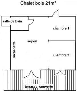 Chalet de 21m²